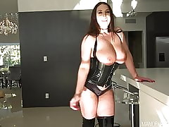 Angela White's Asshole Main support Not in any degree Loathe Burnish apply Same!