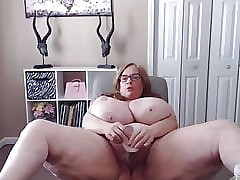 Hammer bbw unsteadiness a extensive jugs