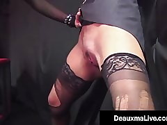 Jailed Cougar Deauxma Punished Overwrought Risible Fixed Cock!
