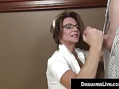 Sanative Contributor Deauxma Strokes Their way Patient's Unchanging Cock!