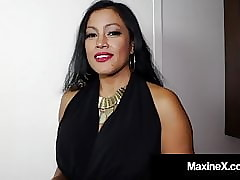 Cambodian Cougar Maxine-X Is Pain in the neck Fucked Off out of one's mind Broad in the beam Moonless Cock!