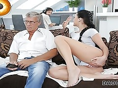 DADDY4K. Challenge is engrossed in computers ergo why GF fucks his