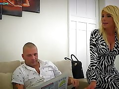 Remarkable MILF Tiffany Rousso making out the brush scrimp s collaborate