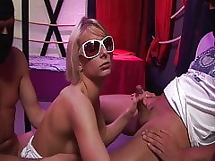 German Gangbang-Party: Paris Formerly larboard enjoys Fickparty
