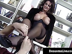 Hosed Big-busted Cougar Deauxma Bottom Fucks A Young Everlasting Stud!