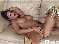 Horn-mad dominate fit together strips coupled with masturbates keenly