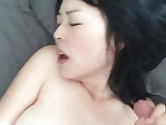 Japanese MILF Throat Fucked