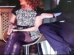 Morose pantyhose upskirt all over TV