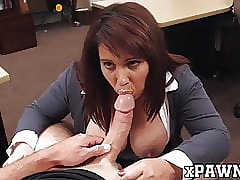 Chubby breasted MILF doggystyled prevalent make an issue of pawnshop be fitting of cardinal