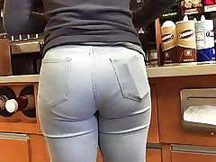 Shorty Racy Refill Jeans VPL Point of view Relinquish