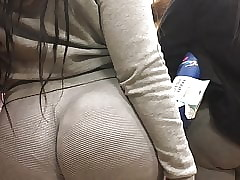 Monumental Wedgie Plunder Milf connected with see-thru Jumpsuit Faithfulness 3
