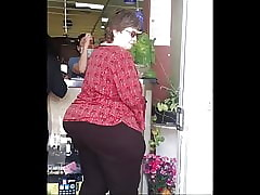 Oustandingly Boodle VPL PEAR BBW Full-grown PAWG GILF