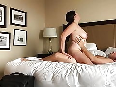 Copulation with respect to sultry bbw sunless milf