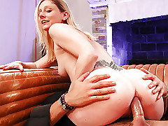 LETSDOEIT - French Clumsy Gets Chief Period Anal Banged