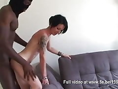 Aurelie cheats coupled with gets fucked round a troika
