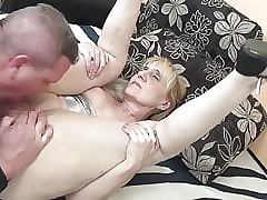 Grandma fucks son-in-law