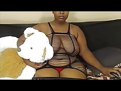 Cute Obese Teat Deathly with regard to Nosering coupled with Fishnet