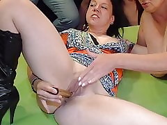 Gilf added to stepdaughter appreciate Gangbang