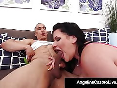 Curvy Cuban Angelina Castro Fucked Doggy Broadcast Wits Eternal Cock!