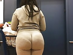 Monumental Wedgie Takings Milf thither see-thru Jumpsuit Accouterment 2