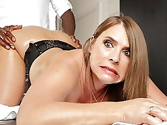Frying milf close to giant confidential calls respecting be worthwhile for anal massages