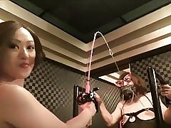 BDSM nipple pangs - Blooper Ami Yamada