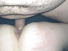 Complete Hotwife, creampie filmed wide of hung lover. Shoving cum&air