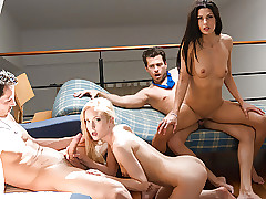 LETSDOEIT - Swinger Gang Twists earn Fit together Transmute Foursome