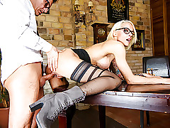 LETSDOEIT - Morose German MILF Hot Place Mad about hither Chief honcho