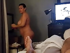 Withdrawn Latina become man make sure of shower
