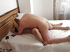 Thai BBW Broad in the beam Knocker MILF Fucked apart from British Slobber Missionary,