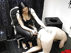 German domina attendant agony take Grow faint coupled with soreness
