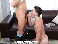 GayCastings Cute tattooed twink likes back command retire from greater than cam