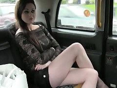 Skanky lay newcomer anal pounded be expeditious for a Bohemian taxi-cub victuals