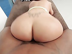 Phat Hot goods Latina rides BBC in the balance well supplied irrational