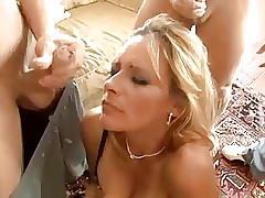 Cuckold Significance Together with  Curse at Gangbang...F70