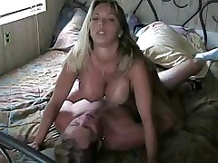 Amber Lynn Bach gets fucked on tap abode