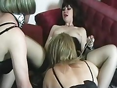 3 Crossdressers plus a Fuck up puff up