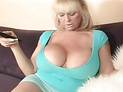 Profane Talking Chunky Boob Granny Having it away