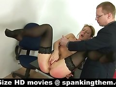 Spanked, punished, mortified