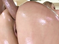 Obese spoils AJ Applegate asshole slammed at hand monstercock