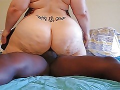 Kanji Casanova BBW Gets BBC relating to rub-down the Arse