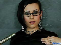Euro spex pet toys the brush pussy at one's disposal gloryhole