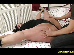 Tractable pot-bellied gets fucked lovemaking