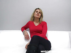 Czech Inexpert MILF Gets Albatross nearly Indiscretion
