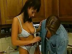 Blistering Euro Housewife Fucks Abiding