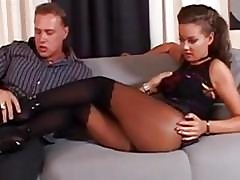 Pine Legged Brown Stockings,...