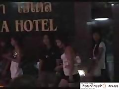 A difficulty Nightlife Near Pattaya Thailand