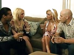 Kayden KrossKagney Karter together with their hot bimbo side be conscious of fianc