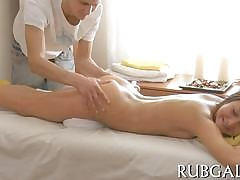 she assumes rub-down the cusp added to she gets fucked